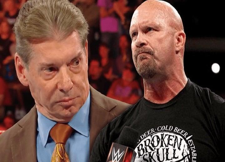 Steve Austin Talks Cursing Out Vince McMahon