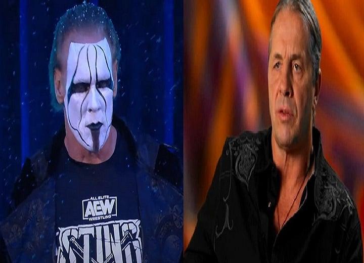 Sting Vs Bret Hart Wrestling legends