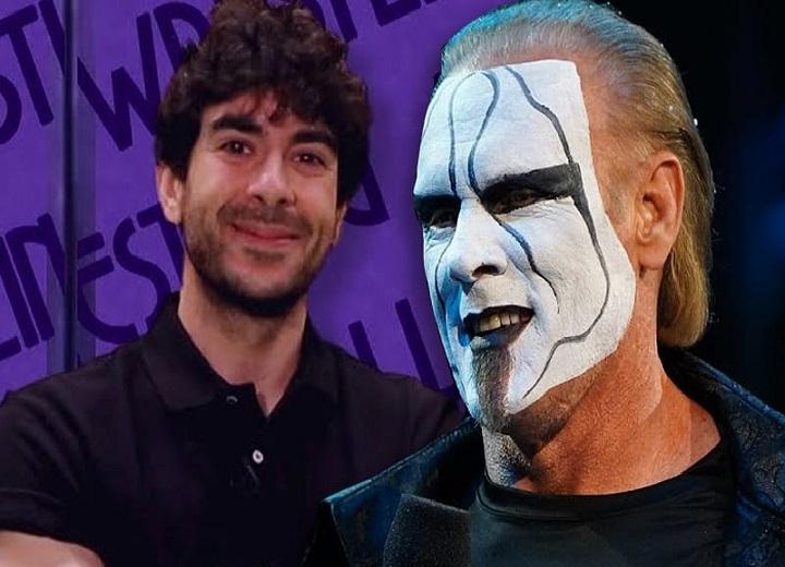 Sting and Tony Khan