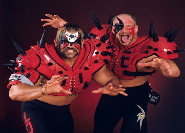 The Road Warrior Animal and Hawk