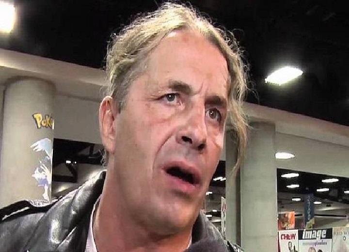 Wrestling legend Bret Hart