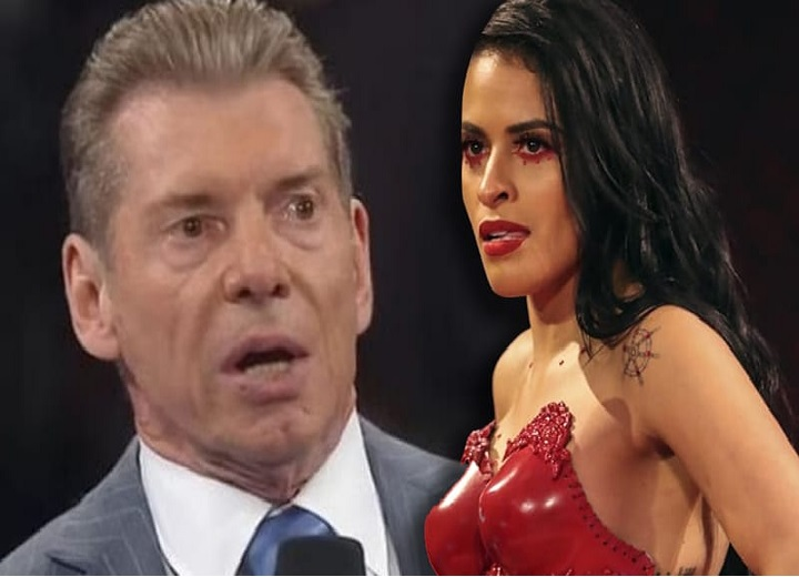 Zelina Vega and Vince McMahon