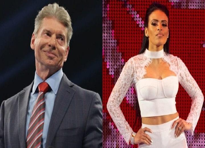 Zelina Vega is one of Vince McMahon favorite