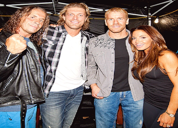 Bret Hart, Edge and others