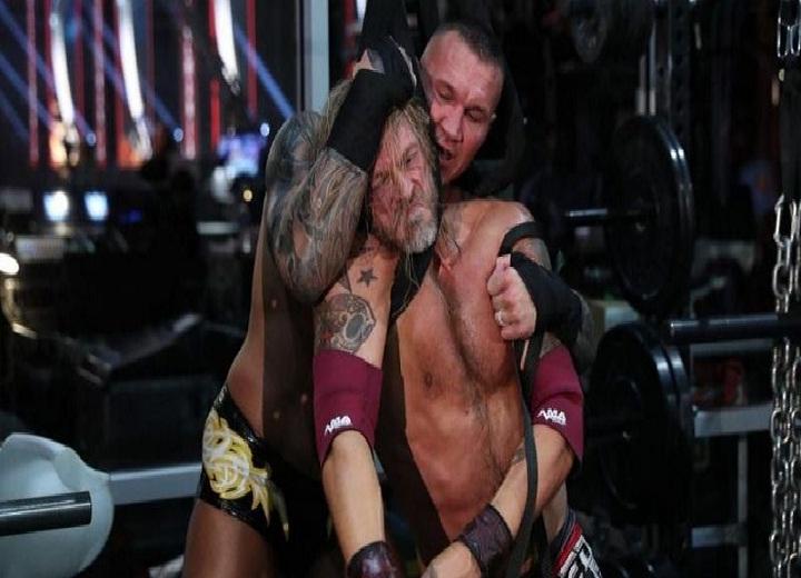 Bret Hart and Randy Orton