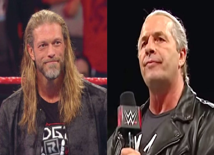 Edge Reveals What Bret Hart Told Him