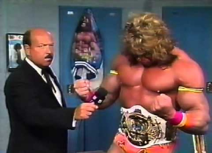 Gene and Ultimate Warrior