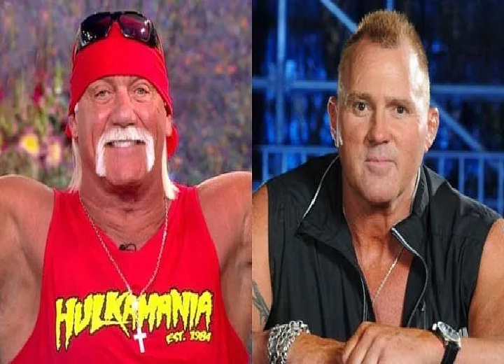 Hulk Hogan and Brutus Beefcake