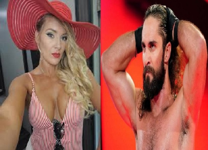 Lacey Evans and Seth Rollins