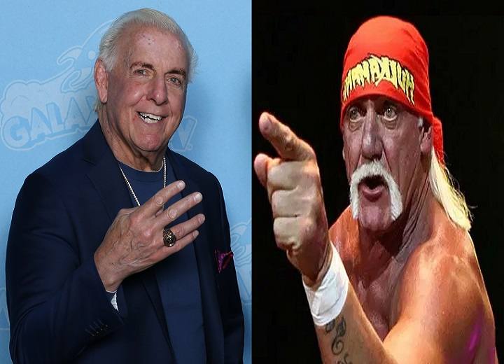 Ric Flair and Hulk Hogan