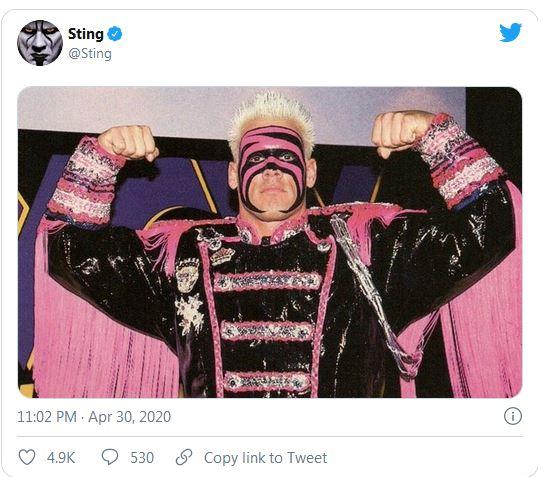 Sting replies Vince McMahon