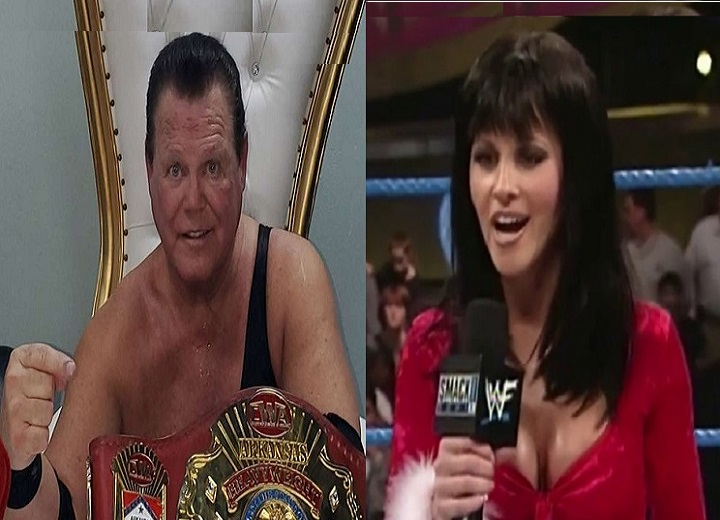 Jerry Lawler and Stacy Carter
