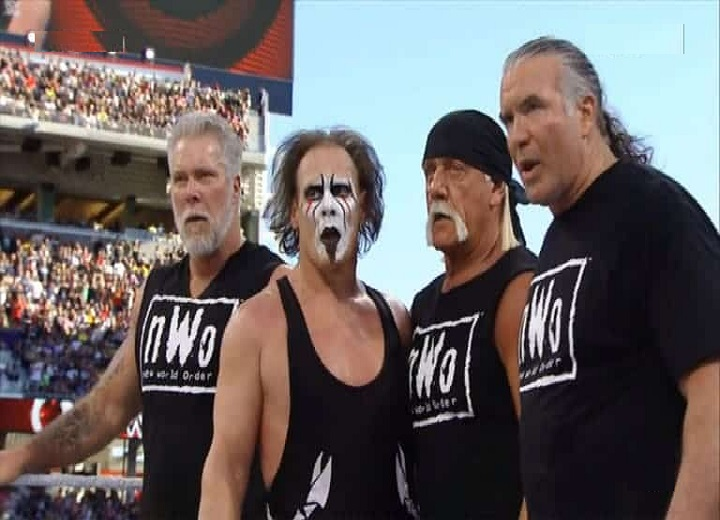 Sting vs The nWo