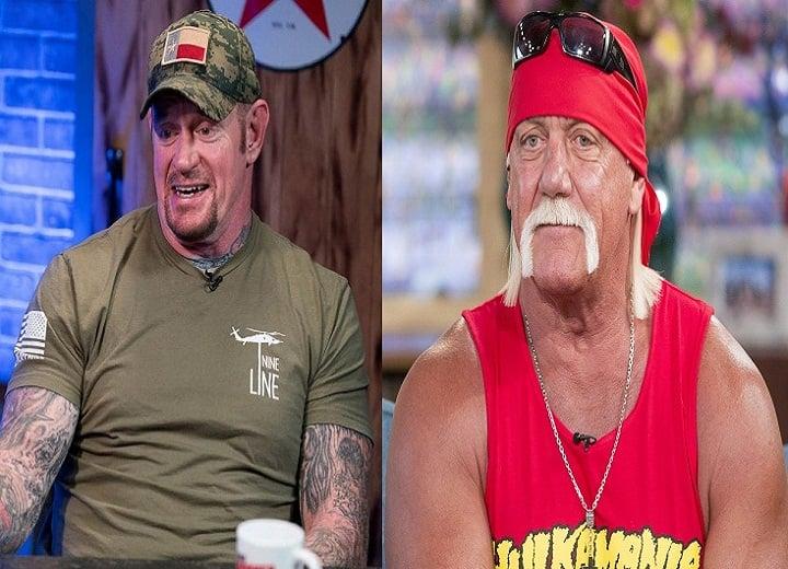 Undertaker and Hulk Hogan