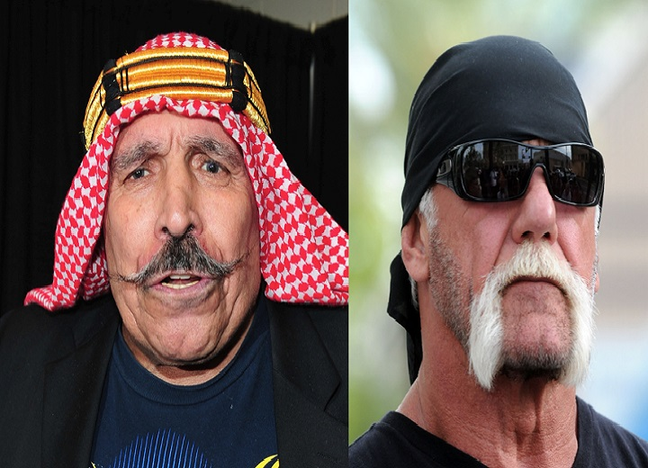 Iron Sheik and the Undertaker