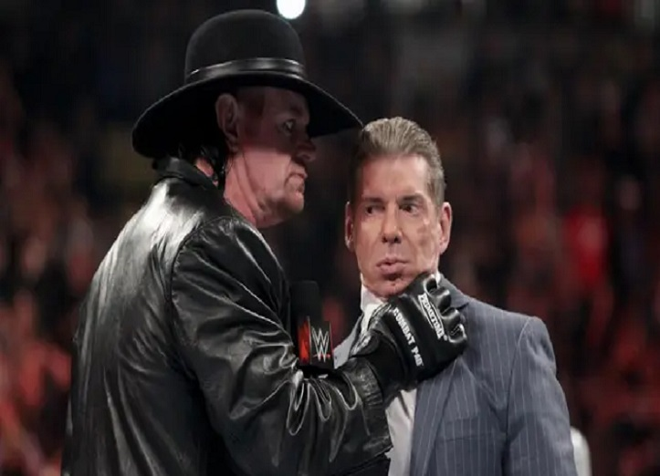 the undertaker confronted vince mcmahon
