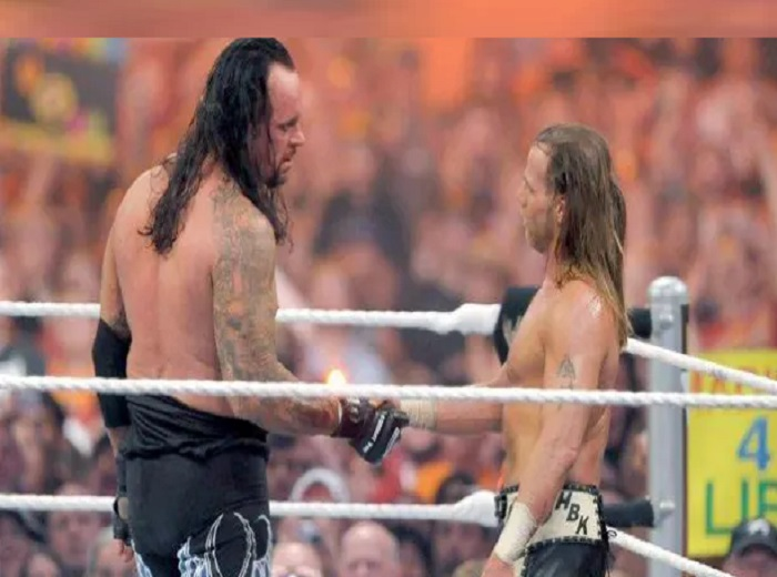 undertaker and shaun michaels