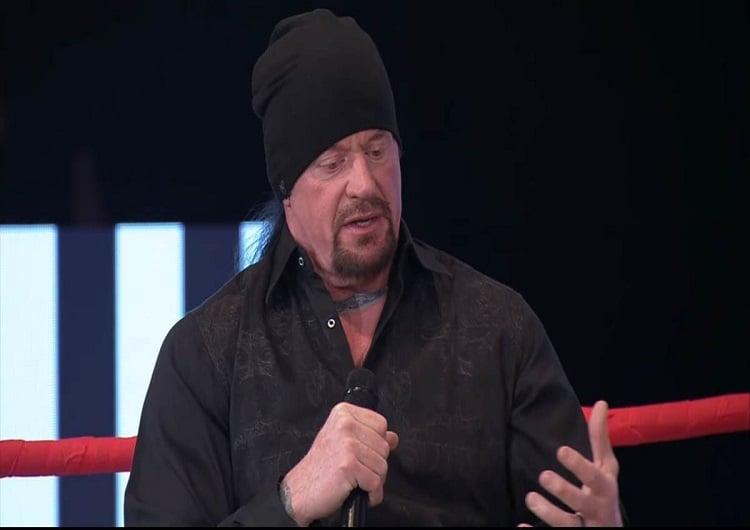 undertaker near death