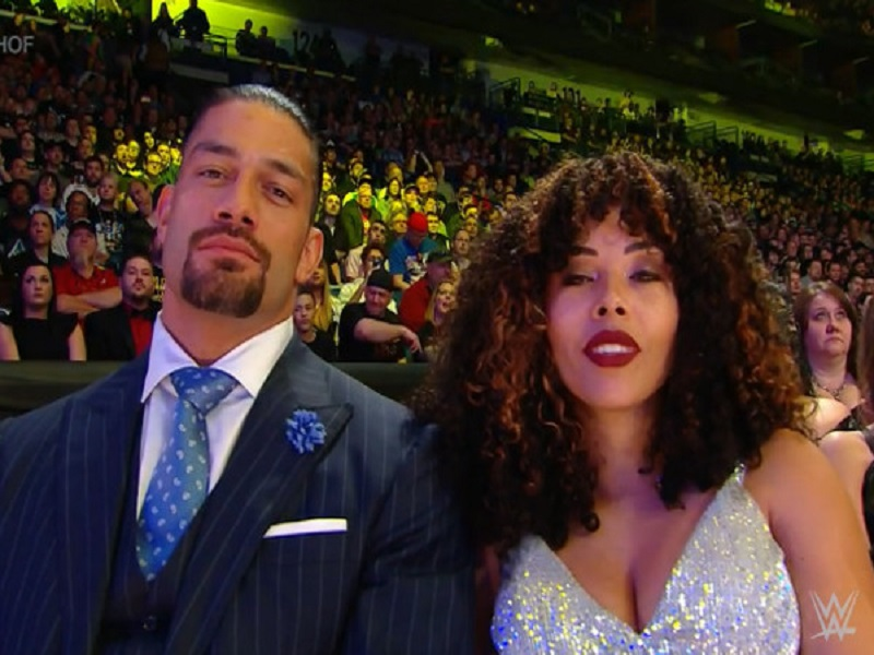 roman reigns and wife