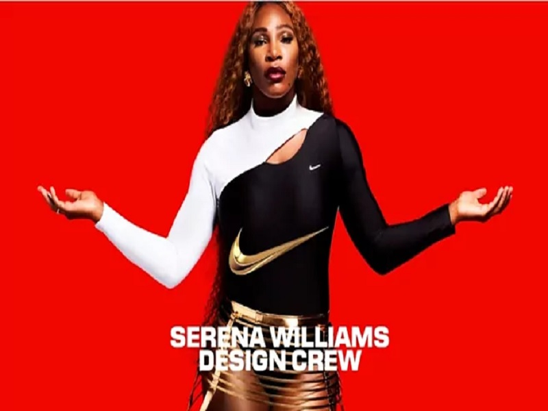 Serena williams partners with Nike