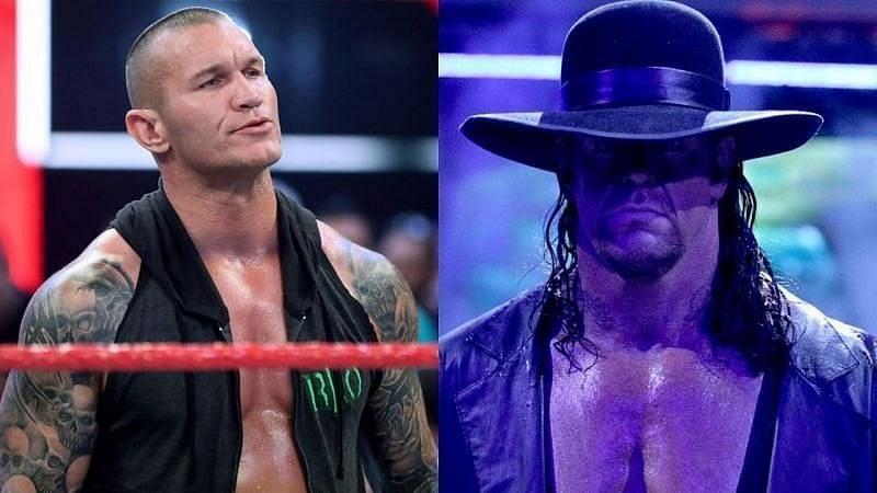 Randy Orton and undertaker