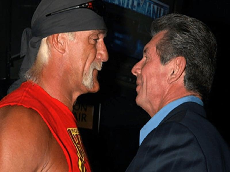 Hulk Hogan Vince mcmahon