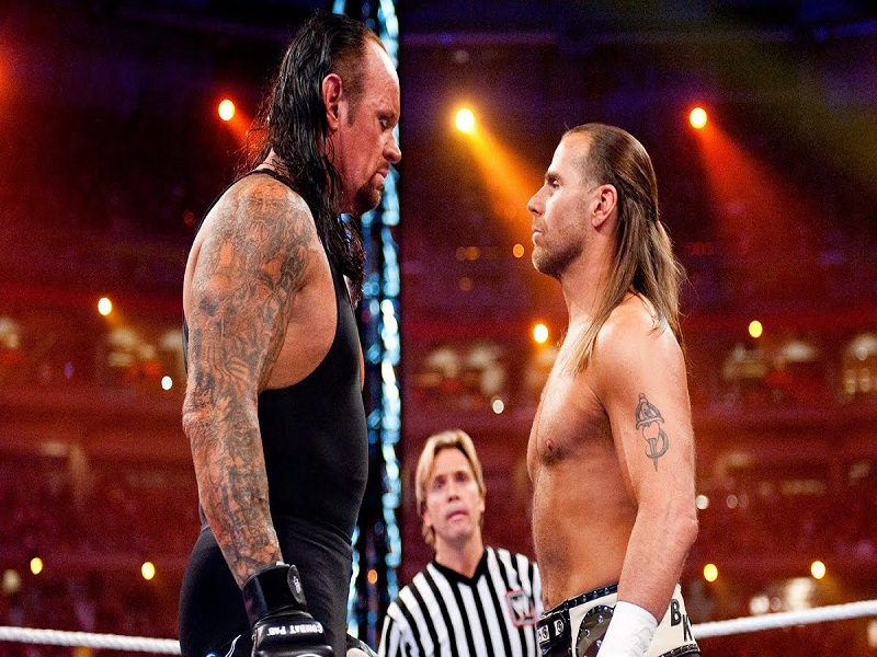 Shawn michaels and the undertaker